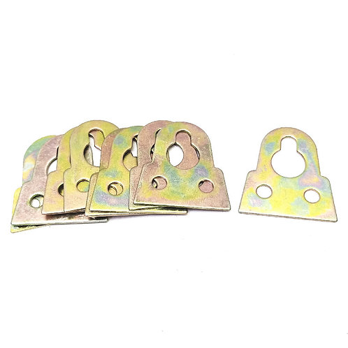 1'' Iron Hanger Plate 10PCS Pack