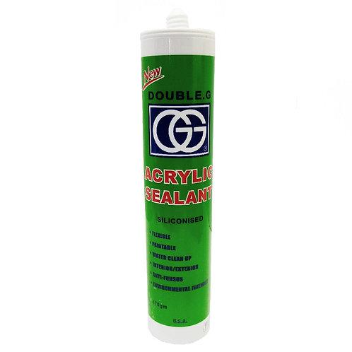 Double-G Acrylic Sealant White 470gm