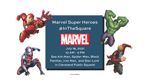 MARVEL SUPER HEROES #INTHESQUARE