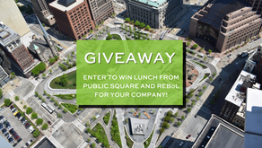 WIN FREE LUNCH FOR YOUR COMPANY #INTHESQUARE