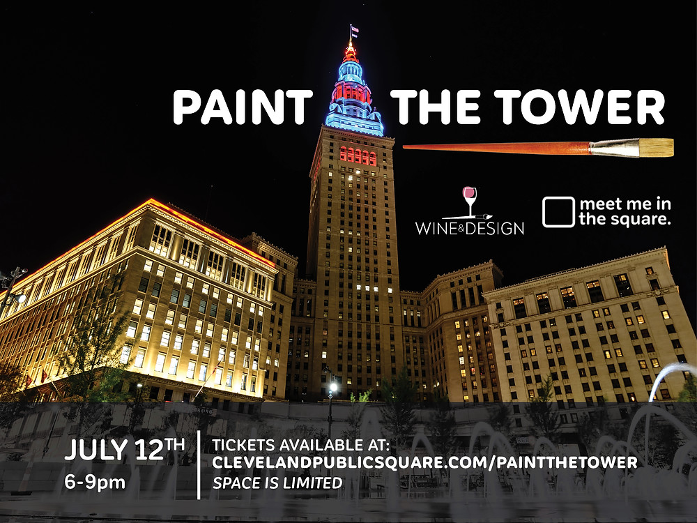 Paint the Tower, July 12 in Public Square