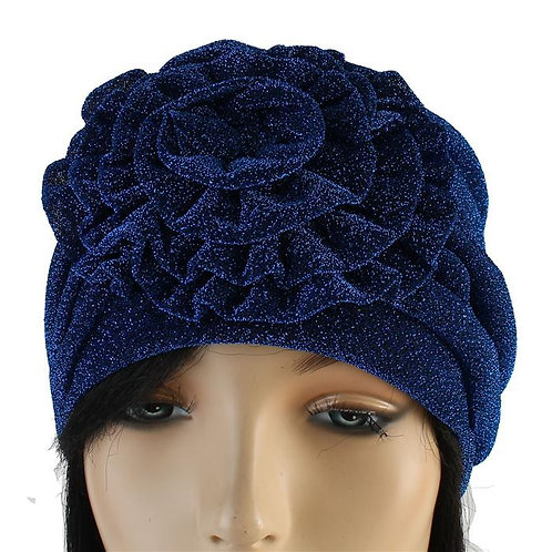 Fashion flower Turban