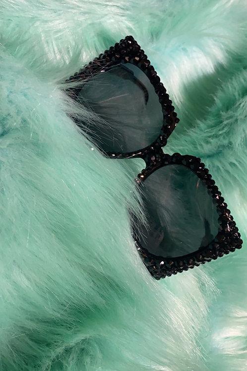Black stone sunglasses