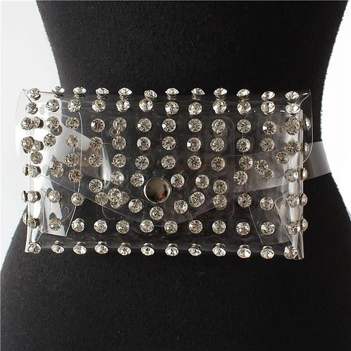 FASHION CRYSTAL BELT BAG