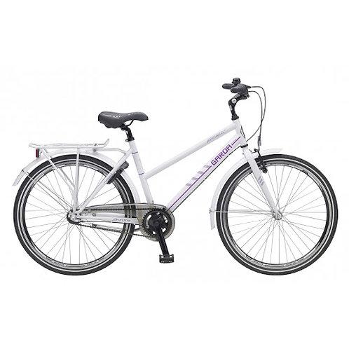 """Madison Garda, valkoinen naistenpyörä, 28"""" 3-v."""