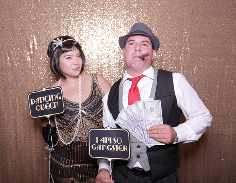 Roaring 20s Theme Photo Booth
