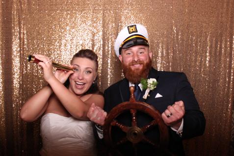 Wedding Nautical Theme Photo Booth