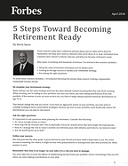 Snow Financial 'Become Retirement Ready' Article