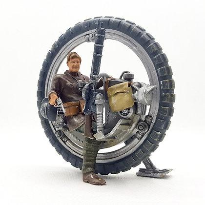 Steampunk mono wheel