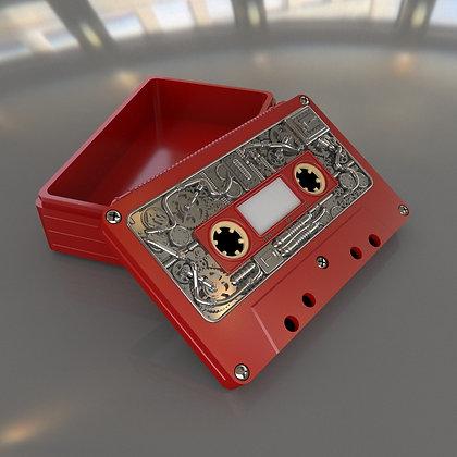 Audio cassette box (Steampunk)