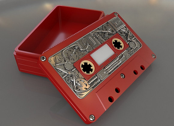 Audio cassette box (Steampunk)