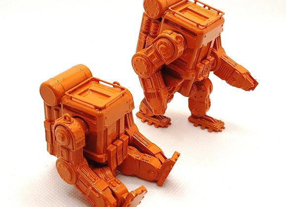 Dieselpunk robots