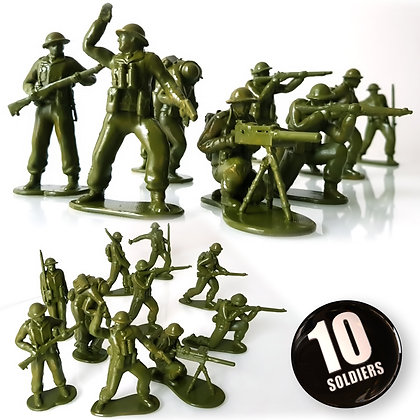 British soldiers Full pack.