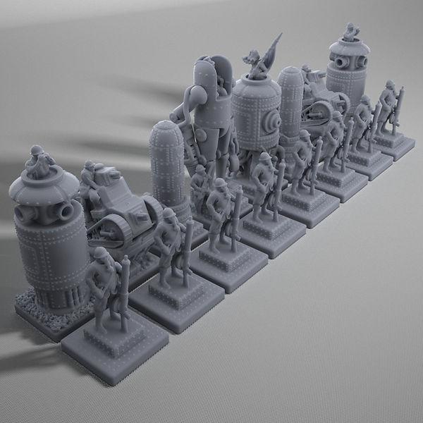 WW1_Steampunk_Chess_Game_Resin_01[23701]