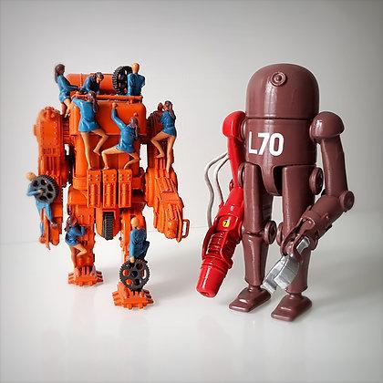 pack robots.