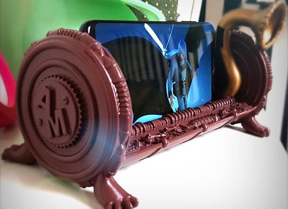 Steampunk  phone holder.