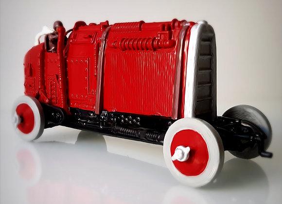 Steampunk roadster.