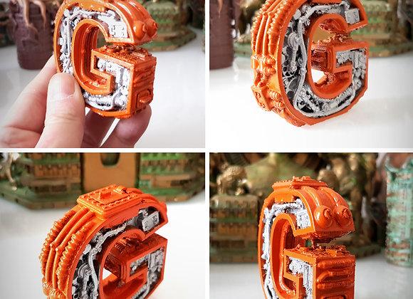Steampunk letter G