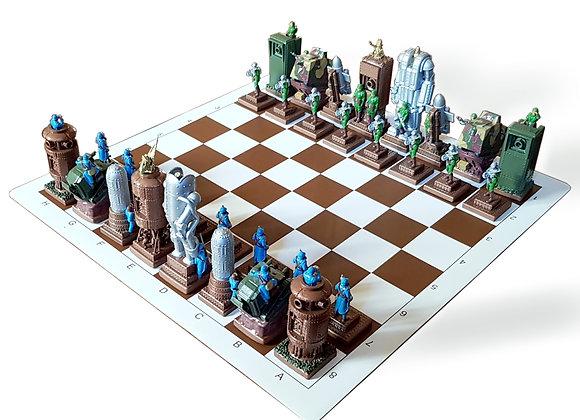 WWI steampunk chess Full