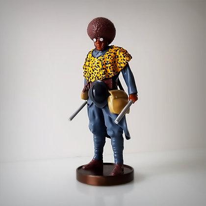Black soldier, vintage hero