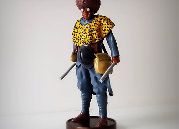 Black soldier, vintage hero