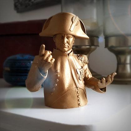 Napoleon bust.