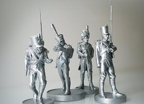 Napoleonic soldiers 1812.