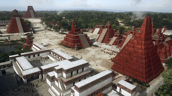 Tikal, Maya