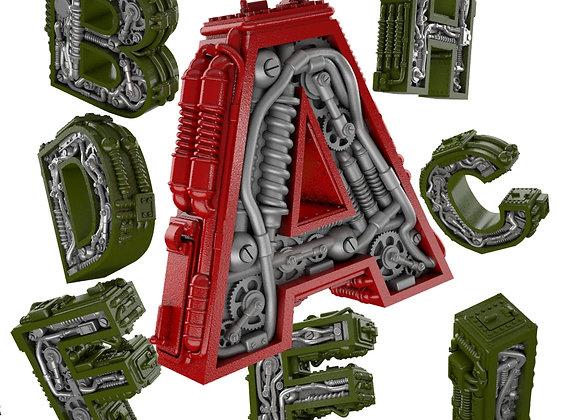 Alphabet A to I