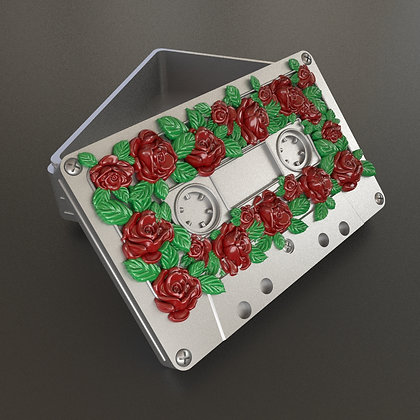 Audio cassette box (Roses)