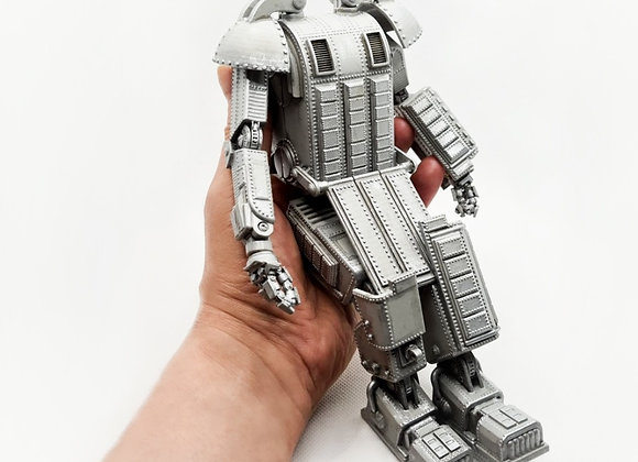 Articuled Dieselpunk robot