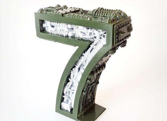 Steampunk number 7