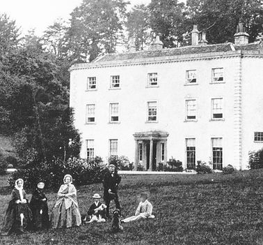 Historical photo of Cerney House