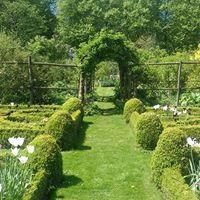 Cerney gardens knot garden