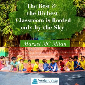 Verdant vista, school architecture, school design, Indian schools, outdoor education, learning