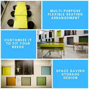 Flexible seating arrangement in schools, School Design, new education policy, Indian school design