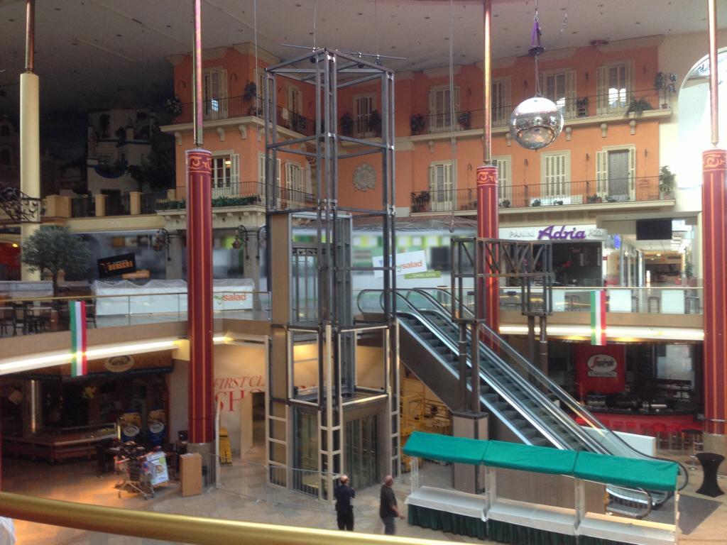 Stahlkonstruktion - Plus City (Markusplatz)