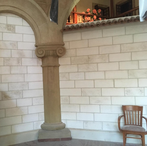 Steinoptik Fassade