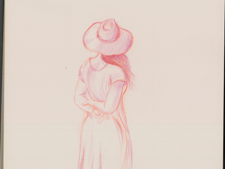 Figure Drawing - Color Pencil
