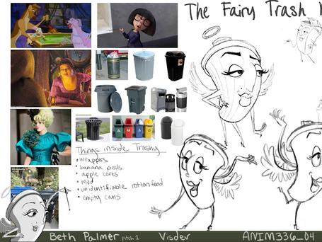 Character Exploration - Trashy