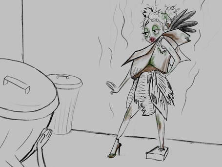 Animatic for Fairy Trash Mother
