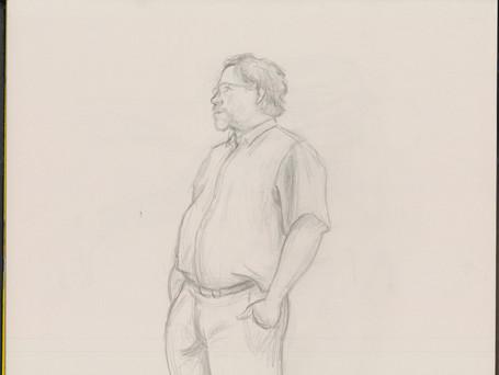 Figure Drawing - Graphite