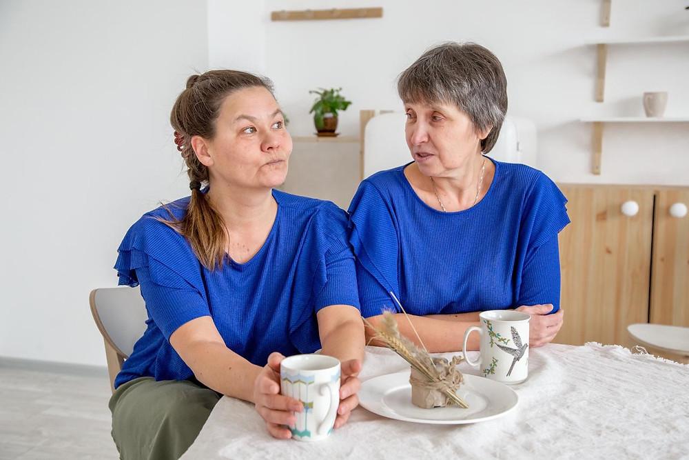 Социальные предприниматели Елена Медянкина и Марина Барыкина