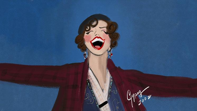 Patti LuPone in Gypsy