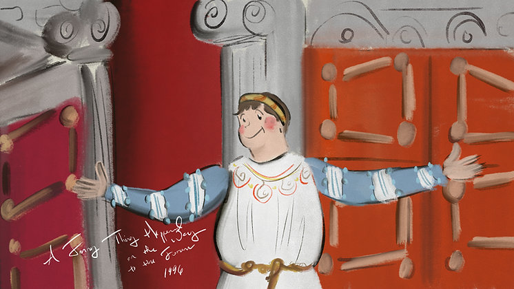 Nathan Lane in A Funny Thing Happened on the Way to the Forum