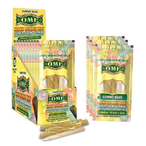 Box of 45 Wraps Gummy Bear Flavor W