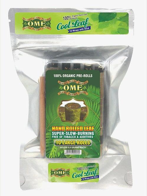 Palm Leaf Cool Leaf Flavor- 10 Wraps