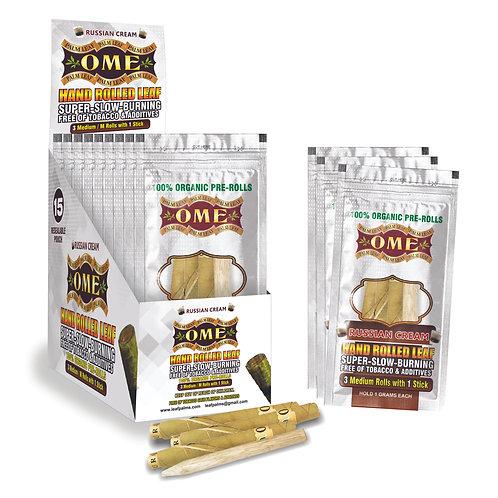 Box of 45 Wraps Russian Cream Flavor