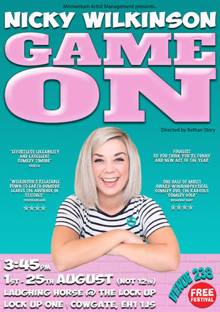 Nicky Wilkinson: Game On
