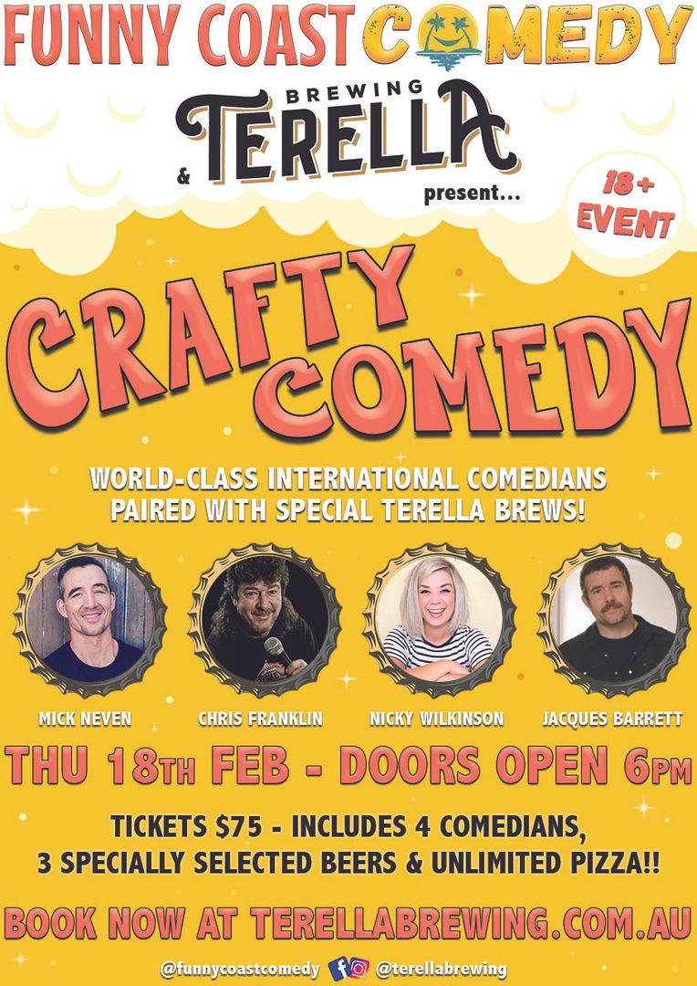Funny Coast Comedy: CRAFTY COMEDY